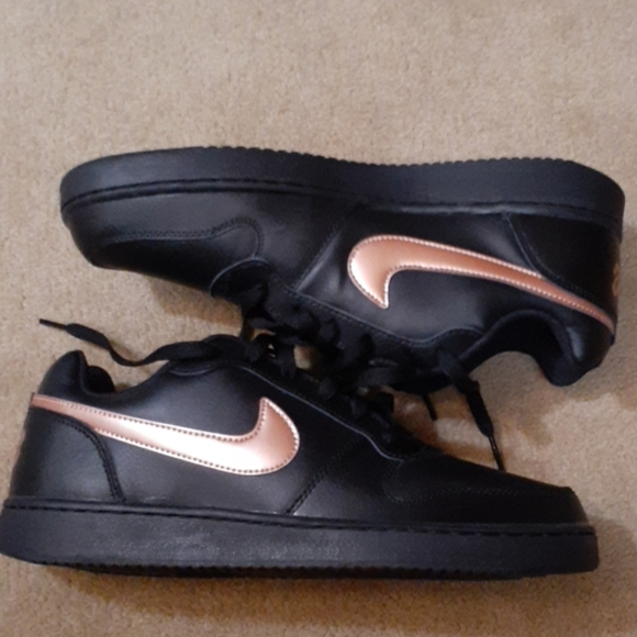 Nike Shoes | Black And Rose Gold Tennis